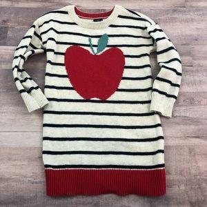 2t GAP apple sweater dress